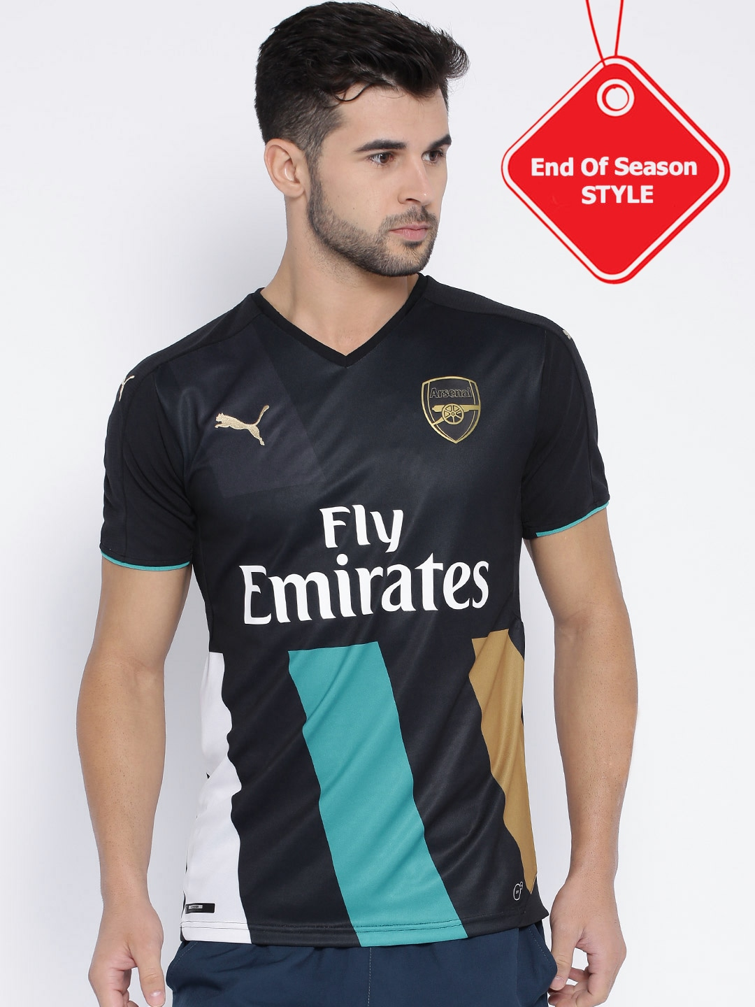 5e08ca560 Puma 74757004 Black Arsenal Fc T Shirt - Best Price in India