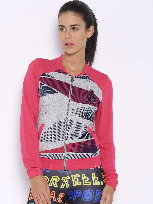 Adidas neo ab8894 Pink Collage Tt Printed Jacket Best