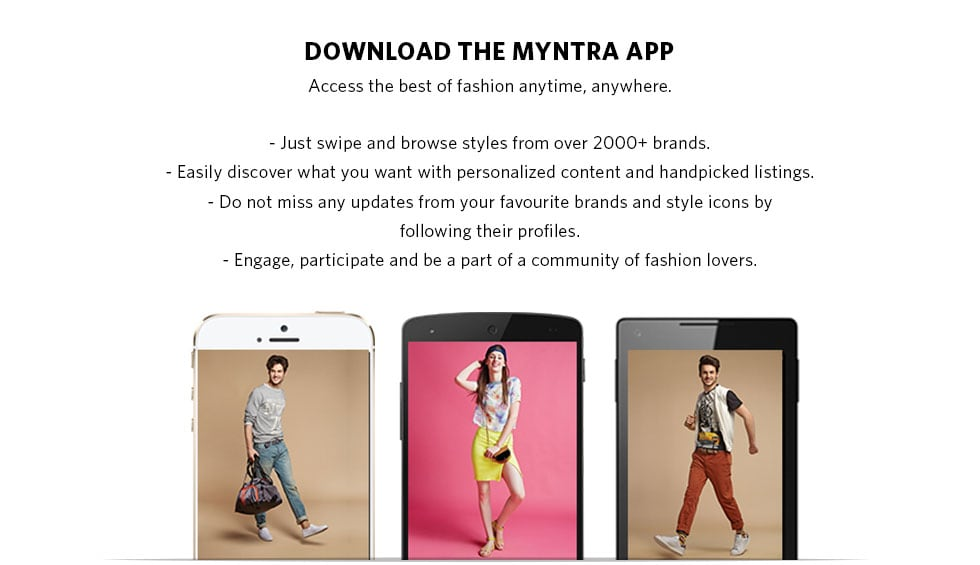 Download the Myntra App