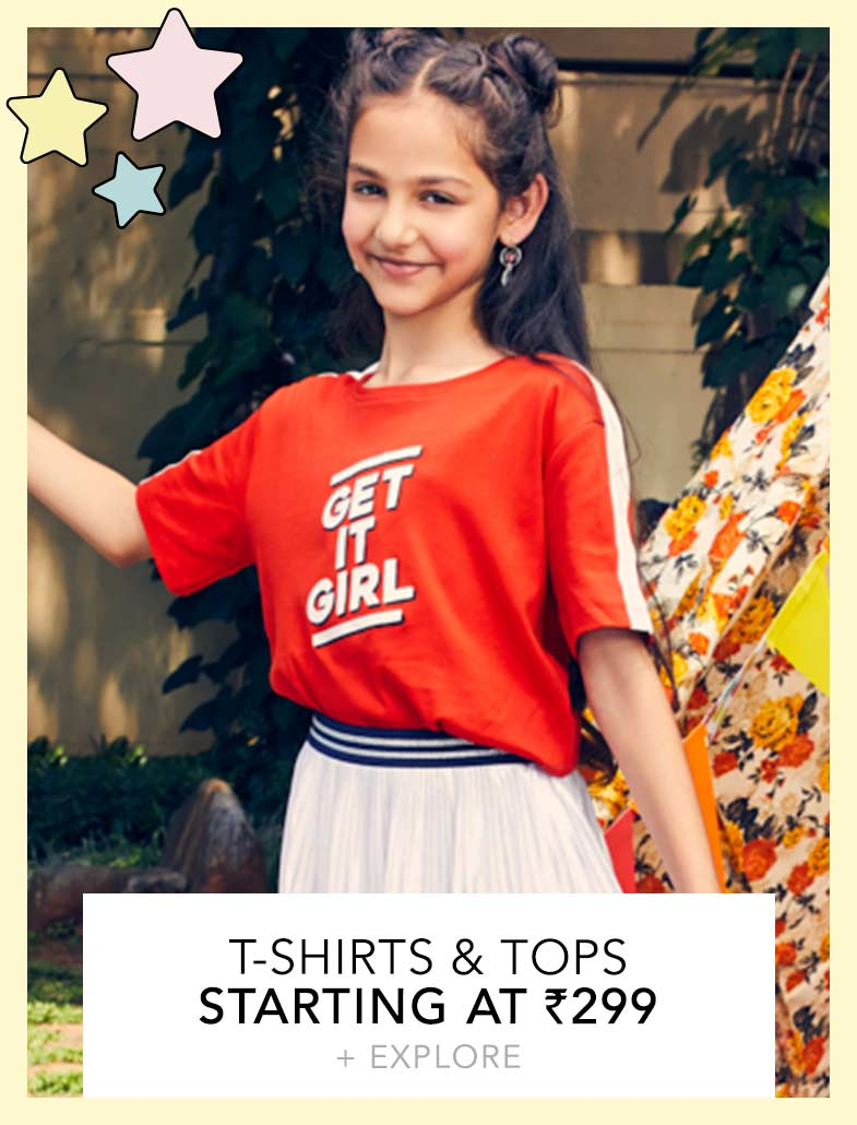 aac8b6e6c Kids Shopping - Buy Kids Clothes, Dresses & Bottom wear Online in India