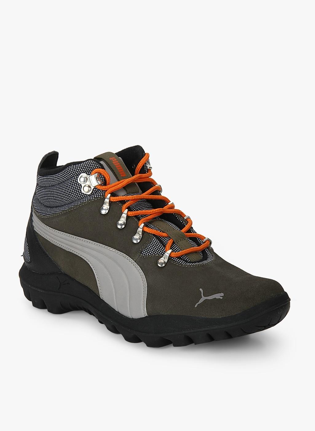 cc3d2582f7ff Puma Tatau Fur 2 Idp Dark Grey Outdoor Shoes for Men online in India ...