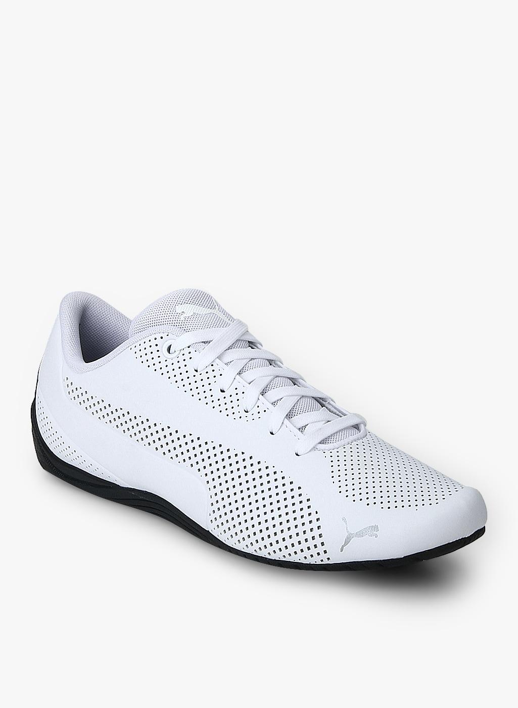 e864fbe9f64 Puma Drift Cat Ultra Reflective White Sneakers for Men online in ...