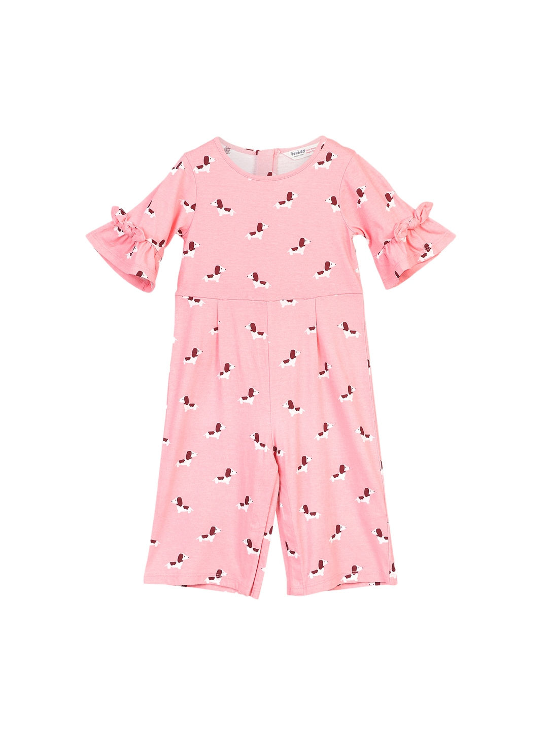 abb19ed3dbcf Buy Chloe Louise Girls Multicoloured Printed Playsuit With White T ...