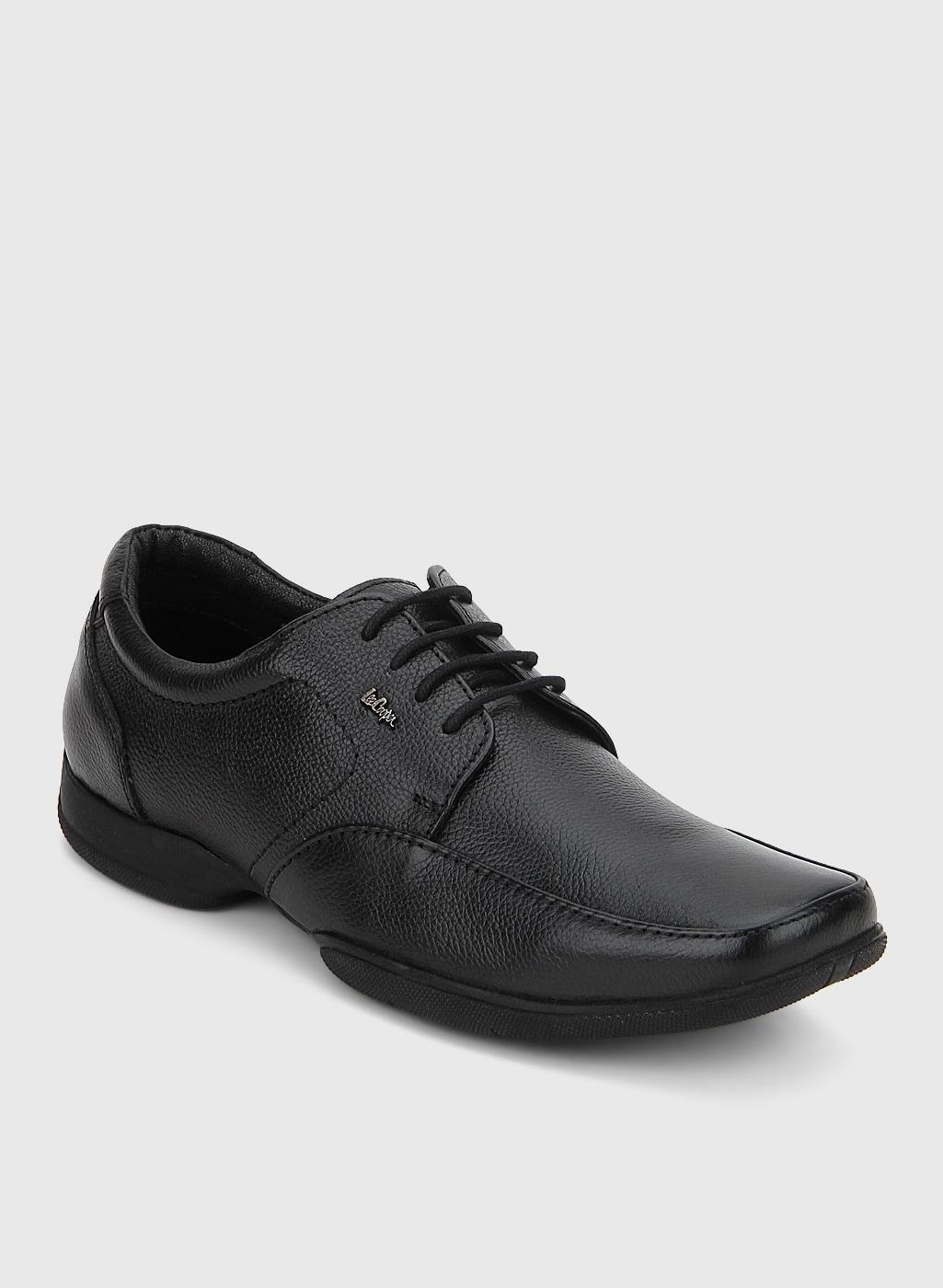 bcbb2fb68bc Lee Cooper Black Oxford Brogue Formal Shoes for Men online in India ...