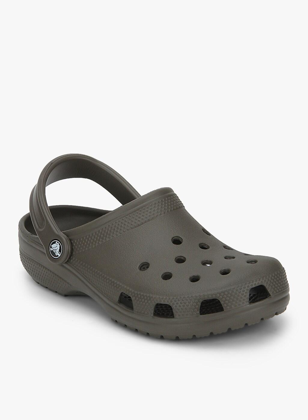 Crocs Classic Grey Sandals