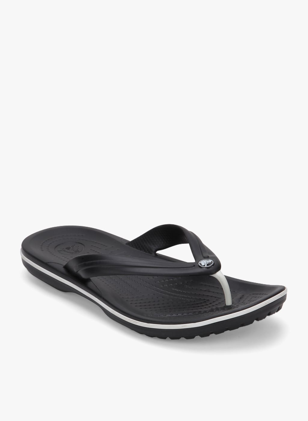 89d5c9248 Crocs Crocband Lopro Black Flip Flops for Men online in India at ...