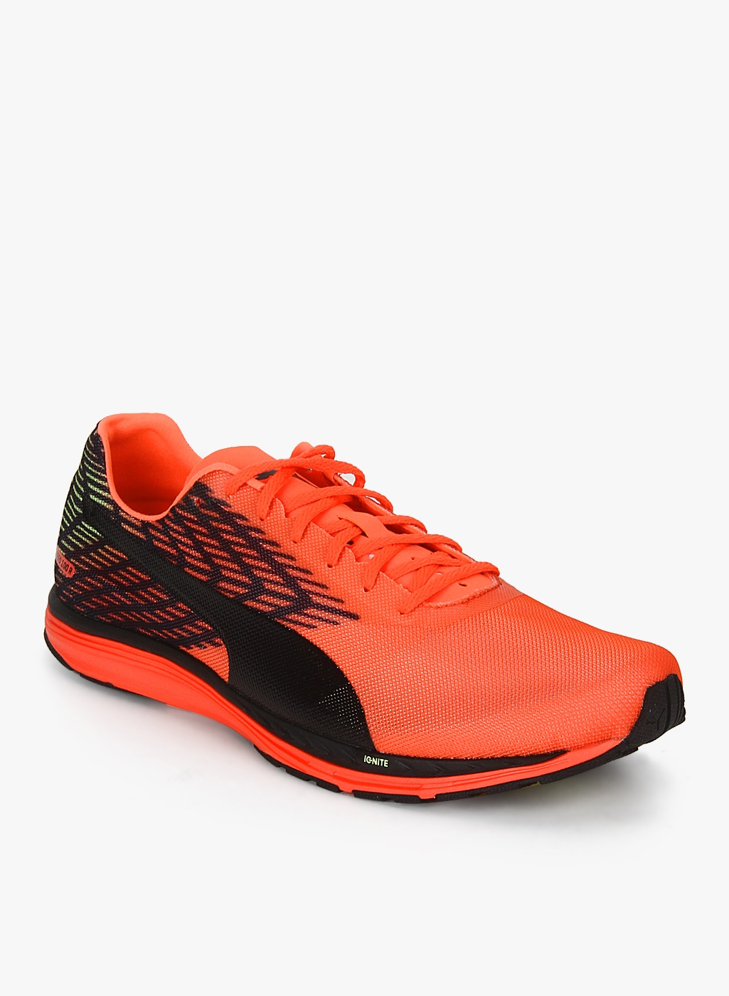 fd5997d0a67 Puma Speed 100 R Ignite 2 Orange Running Shoes for Men online in ...