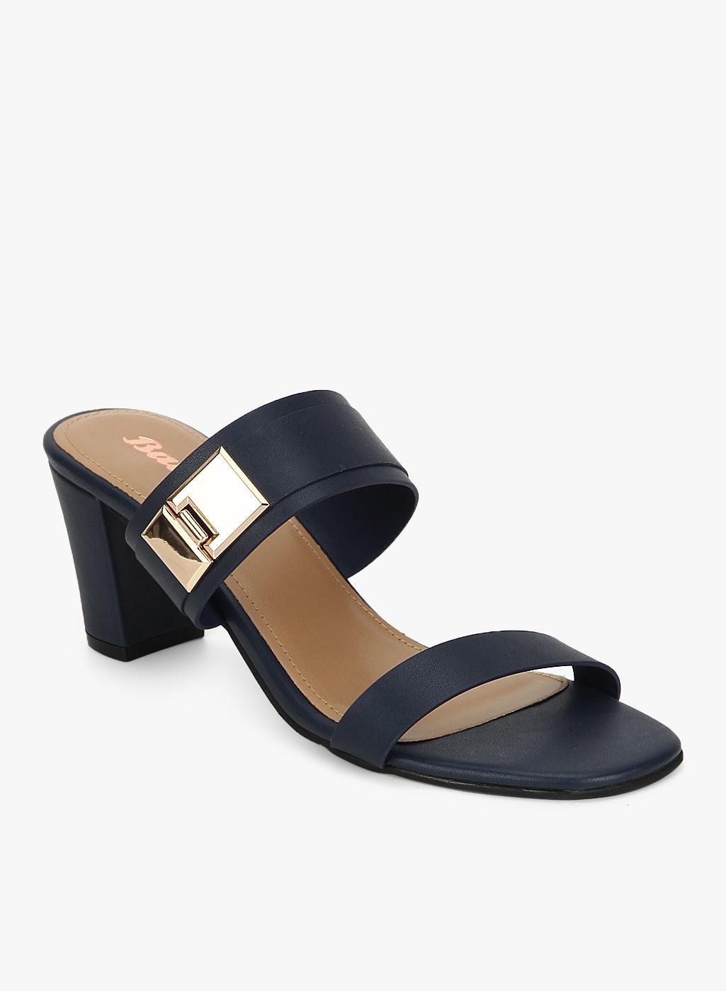 0c083d71ba3b Bata Elastic NAVY BLUE SANDALS for women - Get stylish shoes for ...