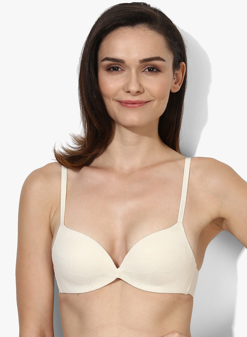 2a32a74830 Buy Nude Solid Lightly Padded Non Wired Bra - Bra for Women 8229679 ...