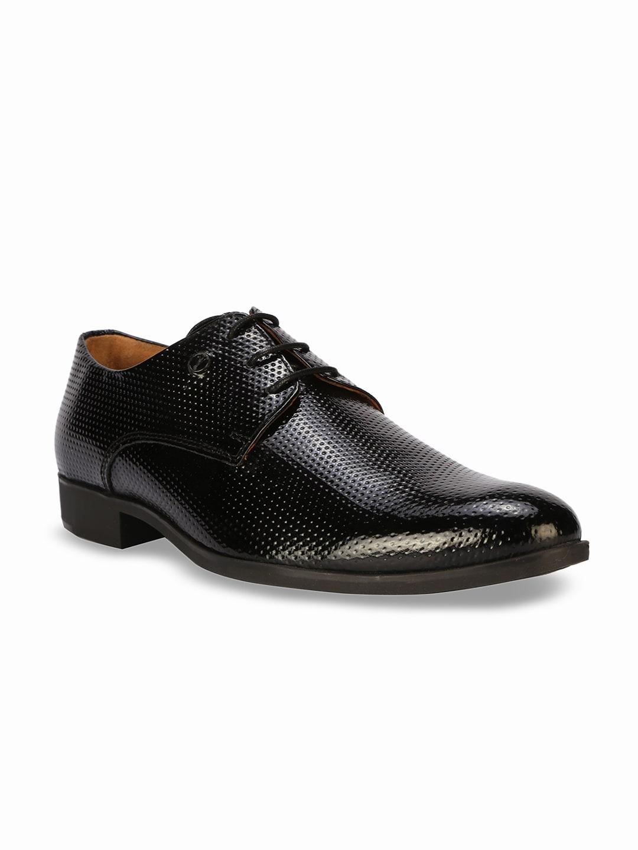 e3734878fc2 Van Heusen Black Derby Formal Shoes for Men online in India at Best ...