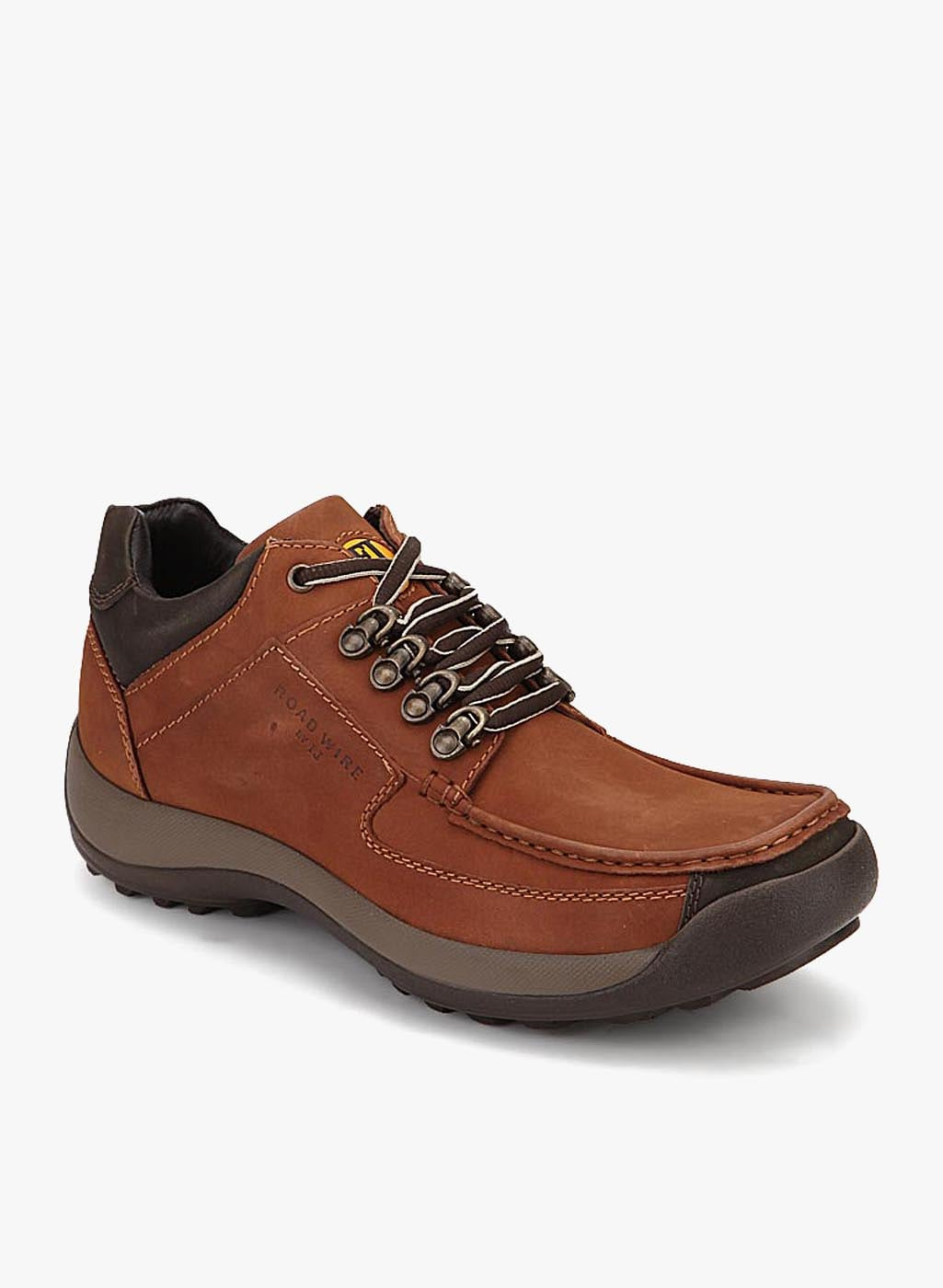 0ee1fa5b9f33 Franco Leone Tan Outdoor Shoes for Men online in India at Best price ...
