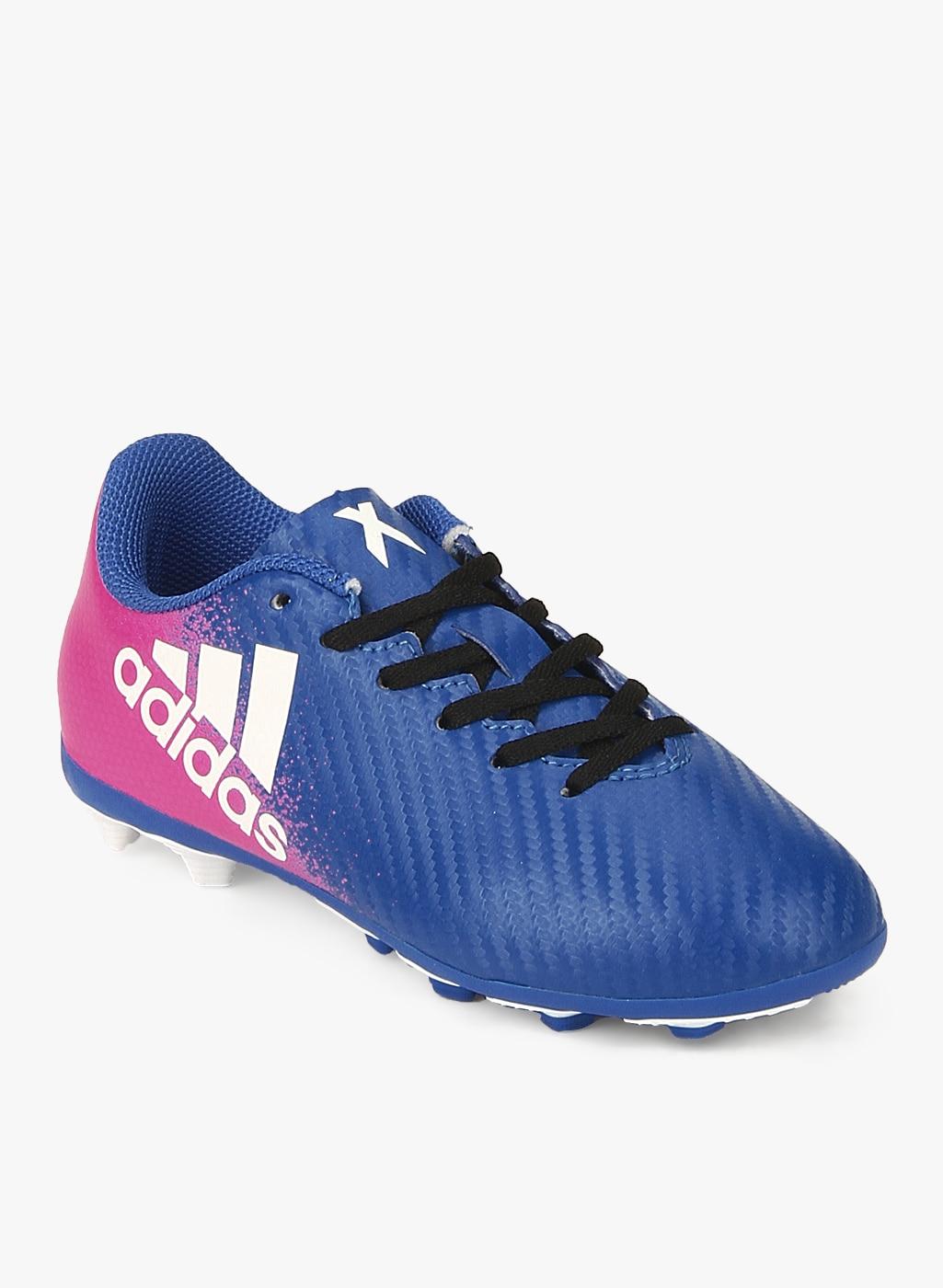 super popular e4b96 f6db4 Adidas X 16.4 Fxg J Blue Football Shoes boys