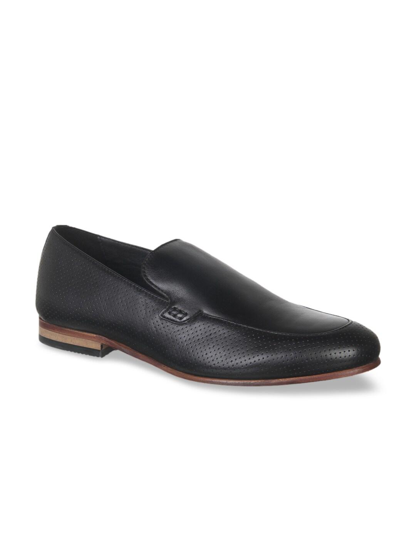 1acbc051947 Buy J.FONTINI Men Black Leather Formal Shoes - Formal Shoes for Men ...