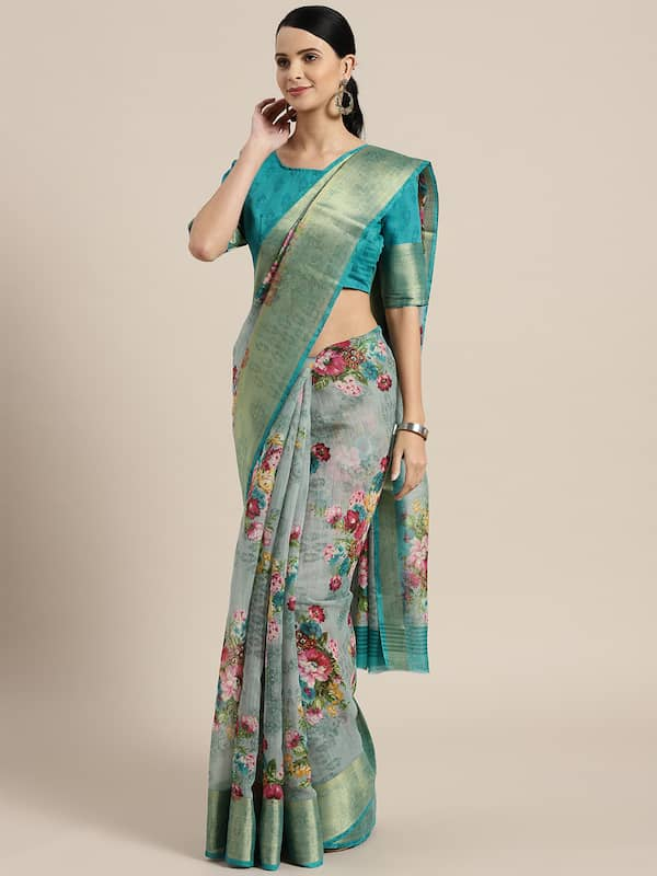 Saree Shop For Latest Saris Collection Online In India Myntra