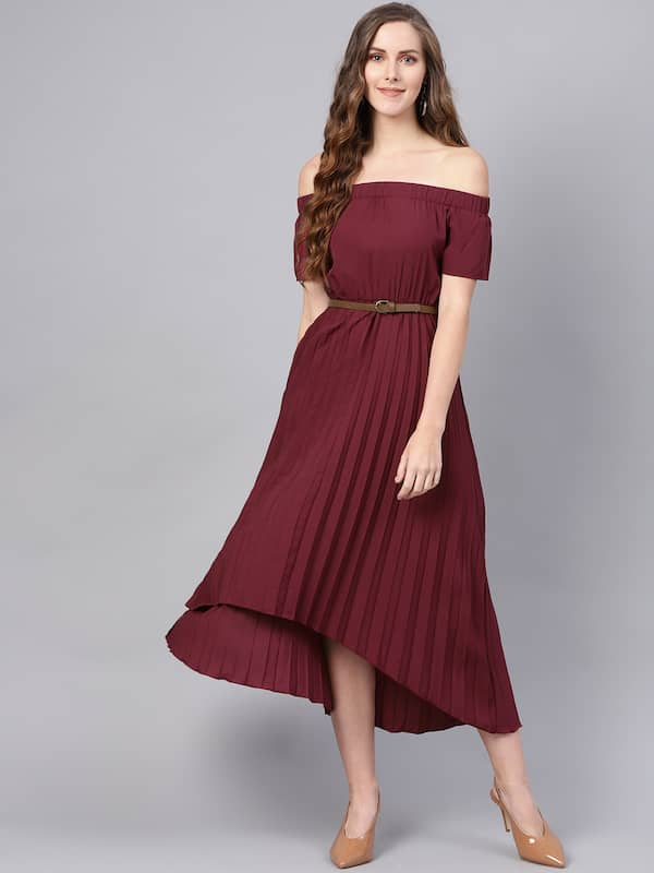 Off Shoulder Dress - Buy Off Shoulder Dresses Online | Myntra