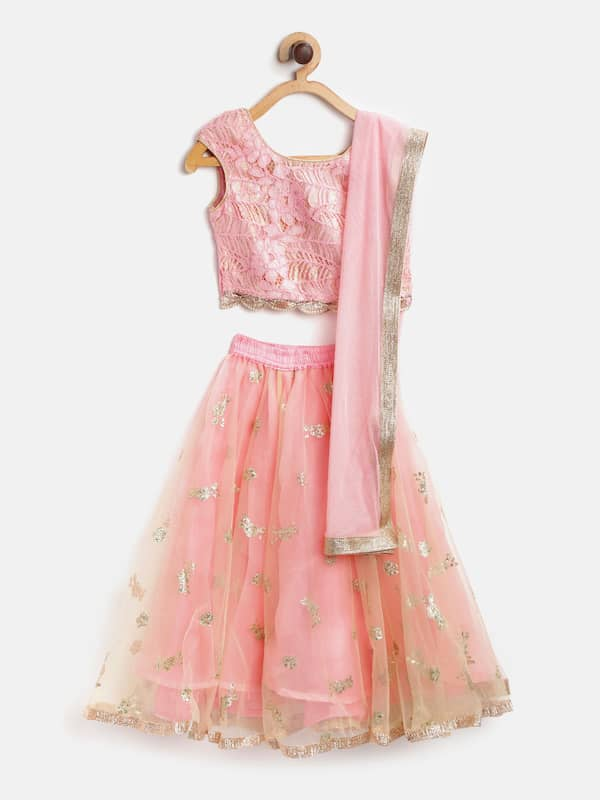 Kids Lehenga Buy Lehenga For Kids Online In India Myntra