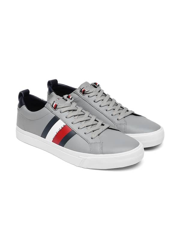 Tommy Hilfiger Grey Casual Shoes - Buy