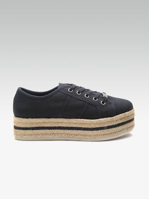 Steve Madden Navy Blue Shoes - Buy