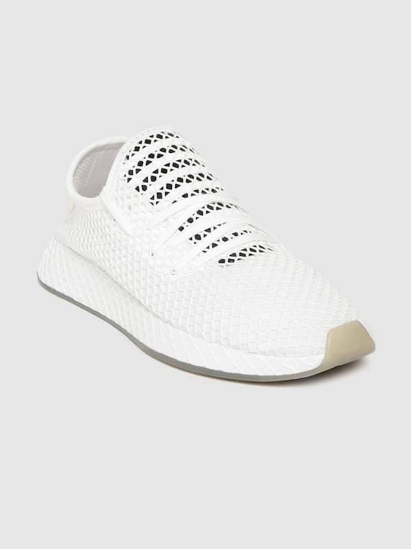 adidas white shoes myntra off 51% - www.usushimd.com
