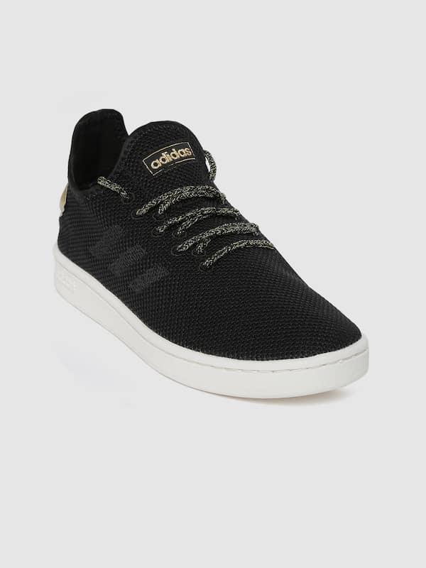 black on black adidas shoes womens