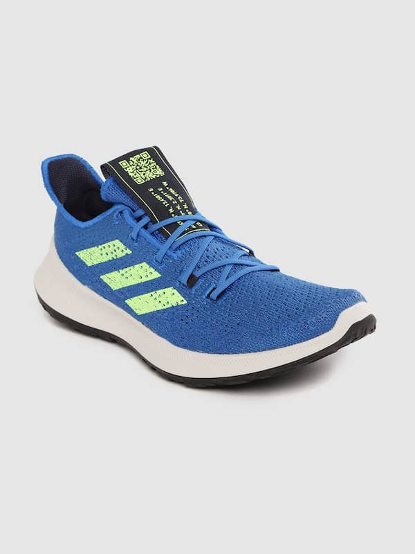 adidas bounce shoes blue