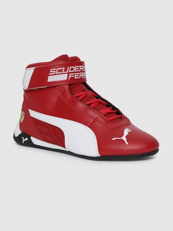 Puma Ferrari Red Casual Shoes Buy Puma Ferrari Red Casual Shoes Online In India