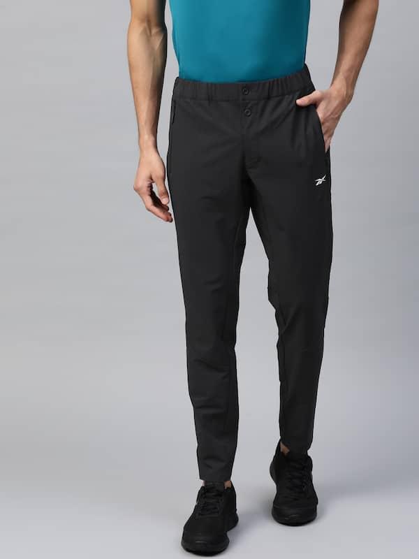 reebok track pants myntra