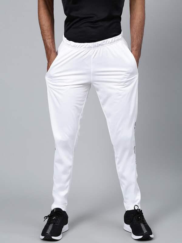 white reebok joggers