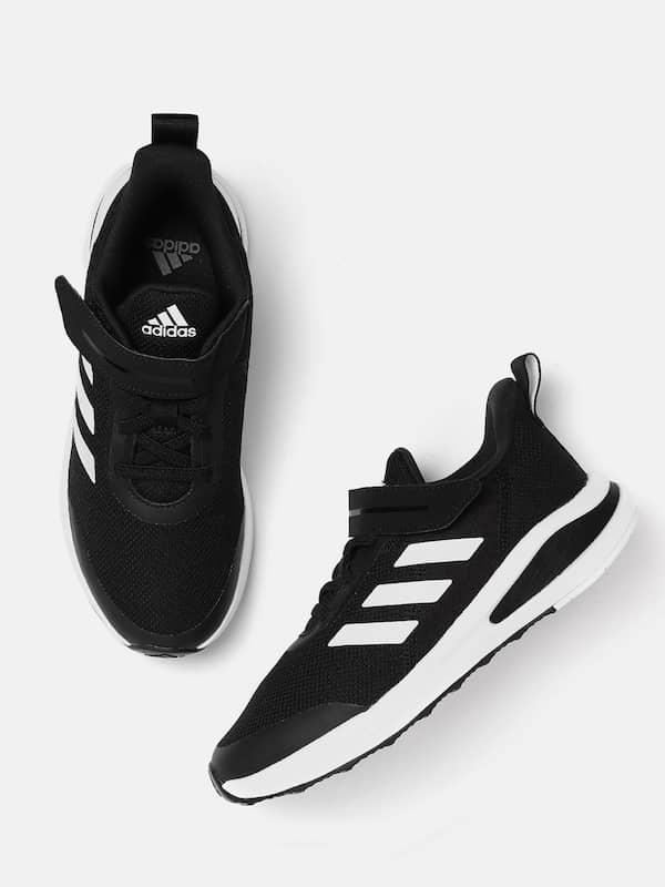 adidas girls black shoes