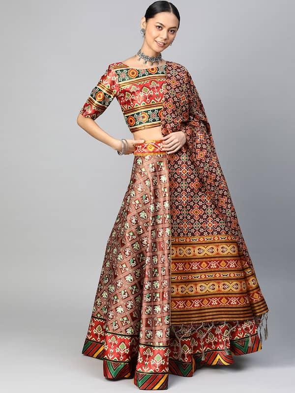 Multi Lehenga Choli - Buy Multi Lehenga Choli online in India