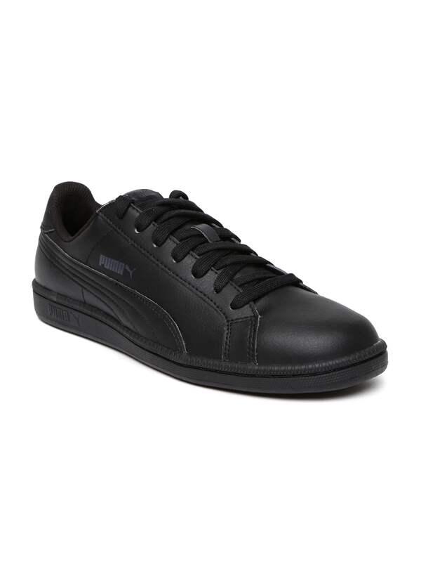 Puma Men Black Leather Shoes - Buy Puma