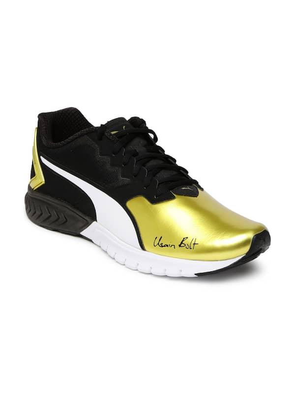 Puma One8 Spike Gold Shoes - Buy Puma
