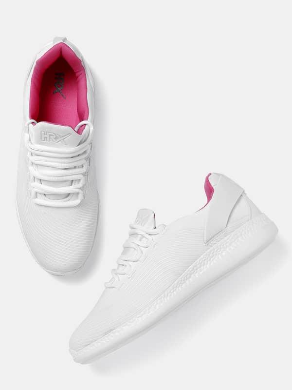 Buy Hrx White Sneakers online in India