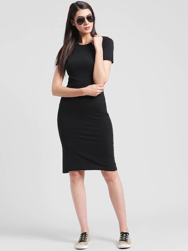 6cae52ce9c Knee Length Dress - Buy Knee Length Dresses Online in India