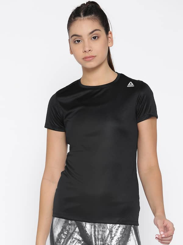bb801af04 Reebok Tshirt Women - Buy Reebok Tshirt Women online in India