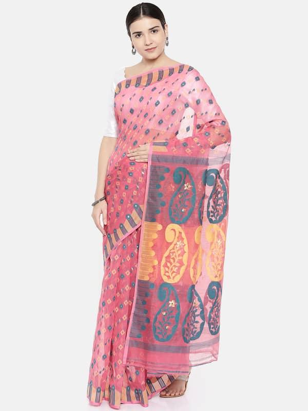 8720f1a1943 Jamdani Saree - Buy Jamdani Sarees Online in India - Myntra