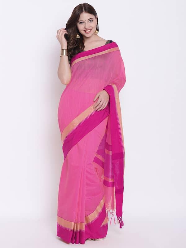 fa7178bb849 Jamdani Saree - Buy Jamdani Sarees Online in India - Myntra