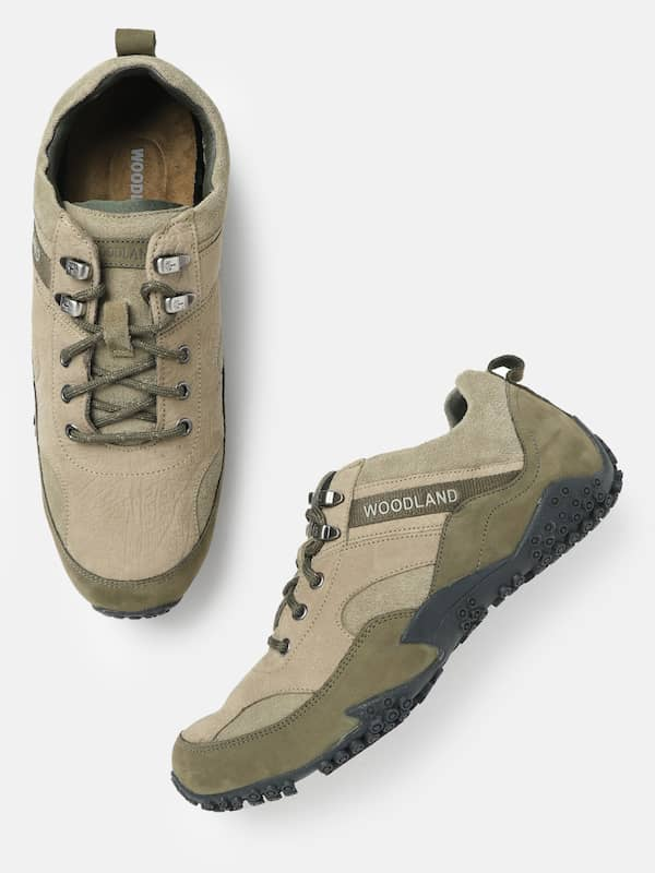 Buy Woodland Khaki Shoes online in India