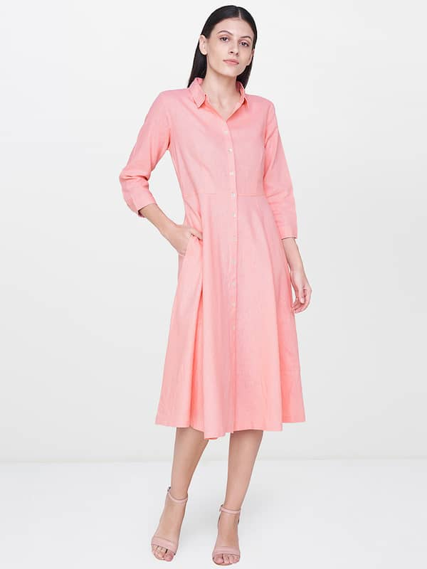 b300dde34ab2 Knee Length Dress - Buy Knee Length Dresses Online in India