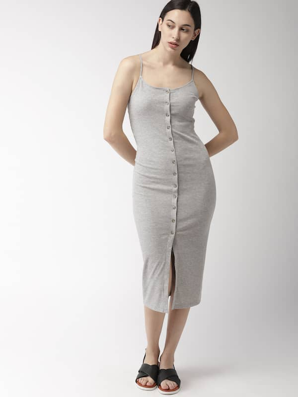 b36a6ac960ee Forever 21 Grey Dresses - Buy Forever 21 Grey Dresses online in India