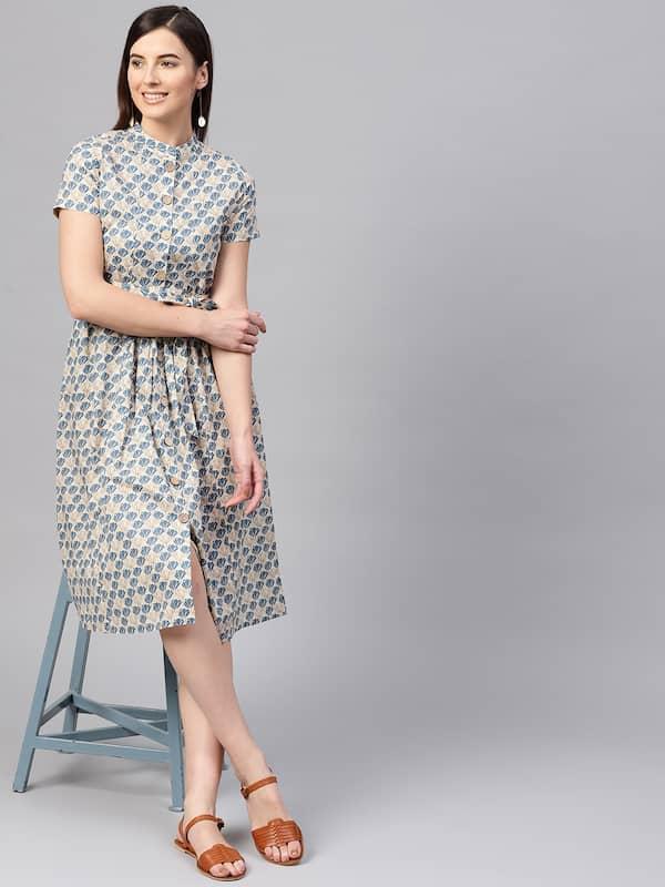 1d9209780d Knee Length Dress - Buy Knee Length Dresses Online in India