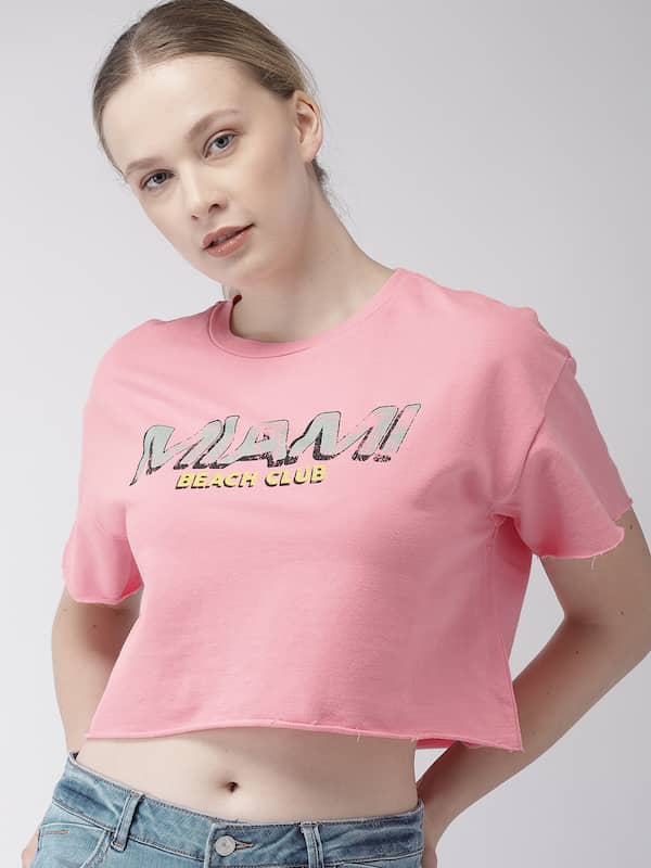 bbca0670a986 Forever 21 Pink Tops - Buy Forever 21 Pink Tops online in India
