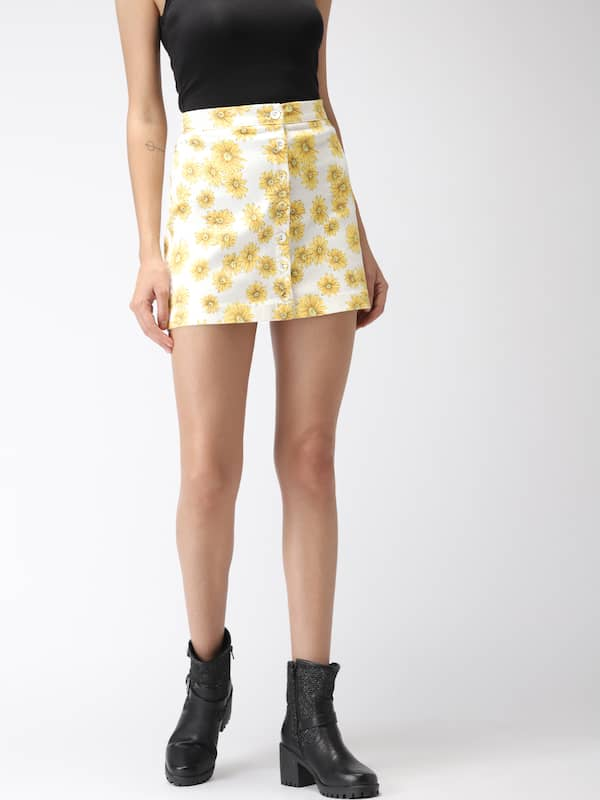 cfaa23ed1f5a Forever 21 Jeans Skirts - Buy Forever 21 Jeans Skirts online in India
