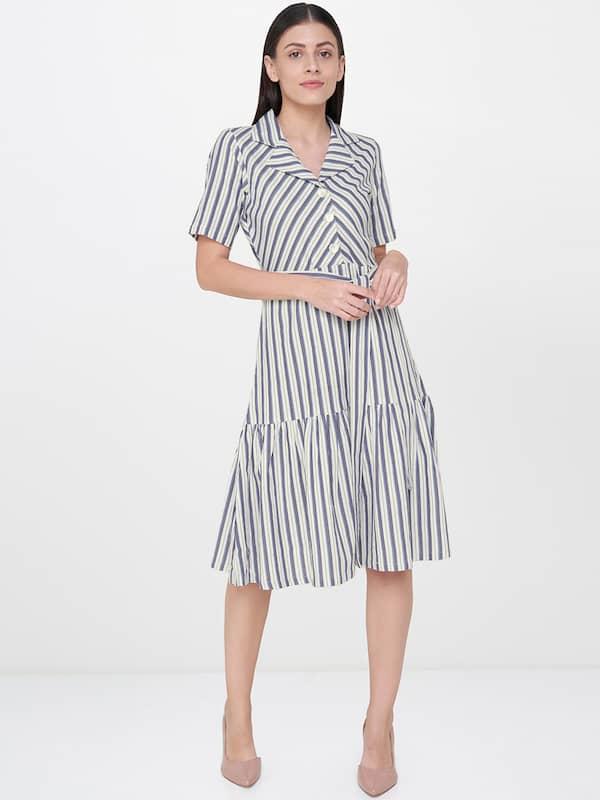 74cb68e76d Knee Length Dress - Buy Knee Length Dresses Online in India
