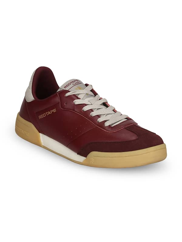 Buy Red Tape Maroon Shoes online in India