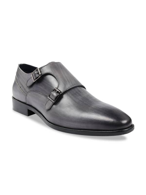 Men Grey Formal Shoes - Buy Men Grey