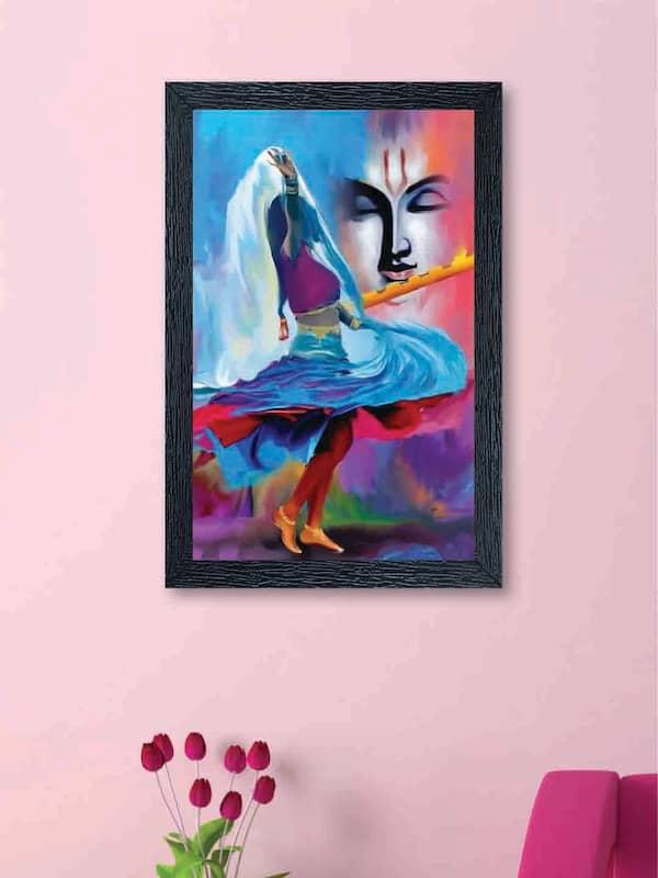 Radha Krishna Paintings Shop For Latest Radha Krishna Painting Online Myntra