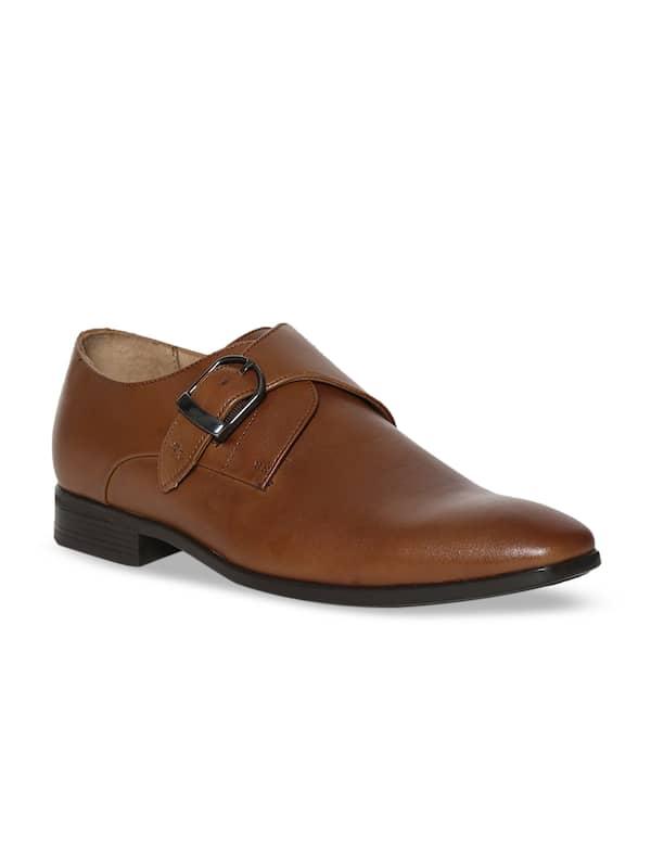 Van Heusen Monks Formal Shoes - Buy Van