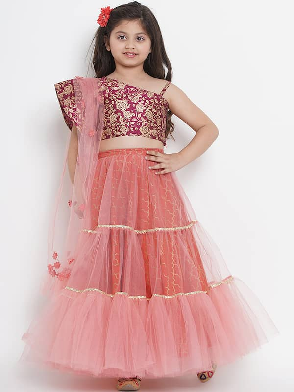 Kids Lehenga Buy Lehenga For Kids Online In India Myntra
