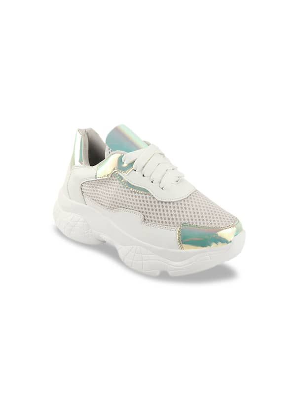 Buy Women White Shoes online in India